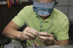 David's Fine Jewelry resident metalsmith